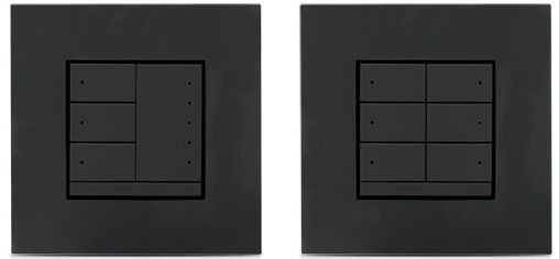 Crestron® In-Wall 0-10V Dimmer-Anthracite-CLWI-DIMFLVEX-ANTH