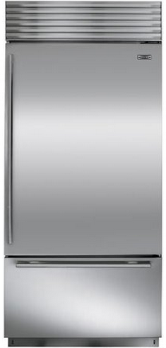 Sub-Zero 21.7 Cu. Ft. Built-In Bottom Freezer Refrigerator-Stainless Steel-BI36US