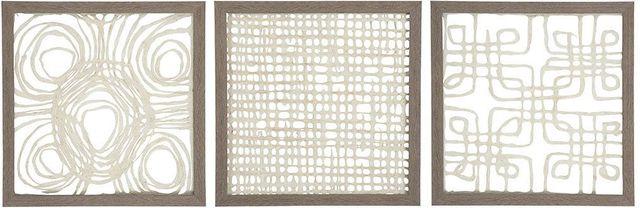 Ashley® Odella 3 Piece Paper Wall Decor Set-A8010009