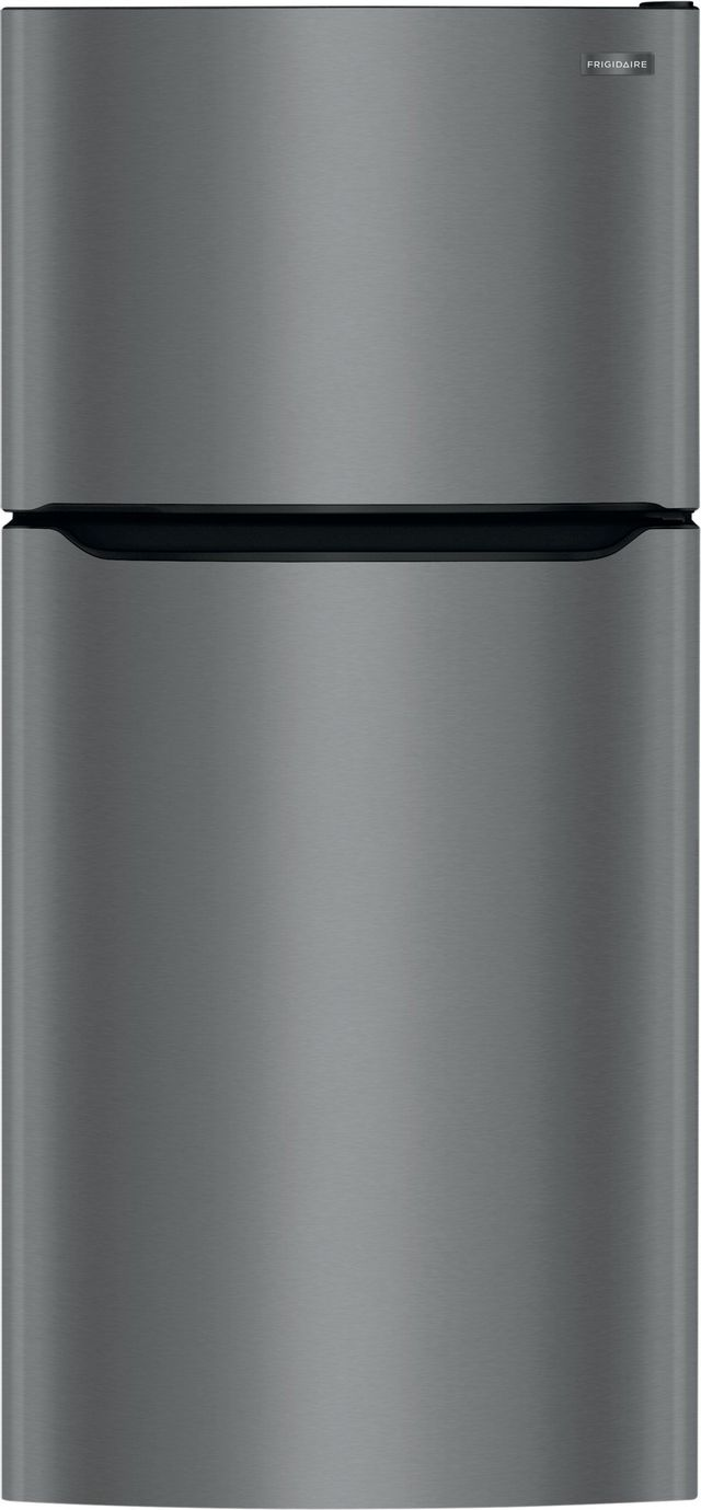 Frigidaire® 20.0 Cu. Ft. Black Stainless Steel Top Freezer Refrigerator-FFTR2045VD