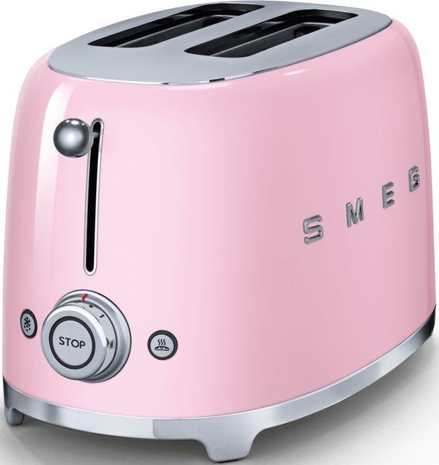 Smeg 50's Retro Style 2 Slice Toaster-Pink-TSF01PKUS