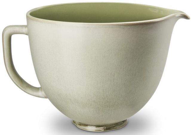 KitchenAid® Sage Leaf 5 Liter Ceramic Bowl-KSM2CB5PSL