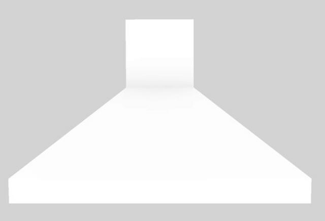 "Vent-A-Hood® 48"" Euro-Style Island Range Hood-White-EPIH18-248 WH"