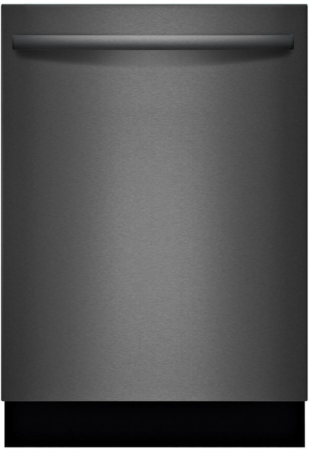 "Bosch 100 Series 24"" Black Stainless Steel Built In Dishwasher-SHXM4AY54N"