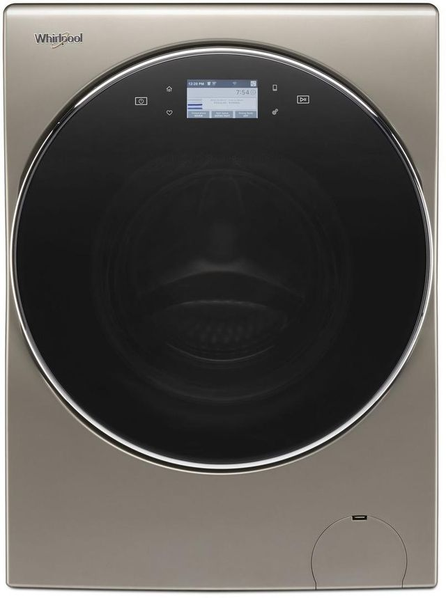Whirlpool® Smart All-In-One Washer & Dryer-Cashmere-WFC8090GX
