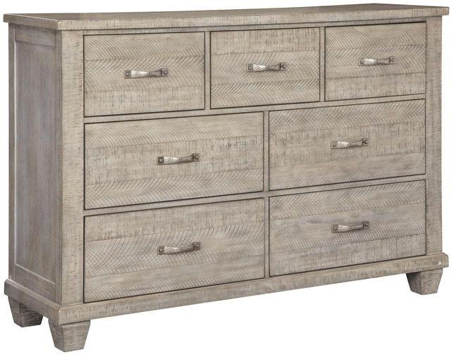 Benchcraft® Naydell Rustic Gray Dresser-B639-31