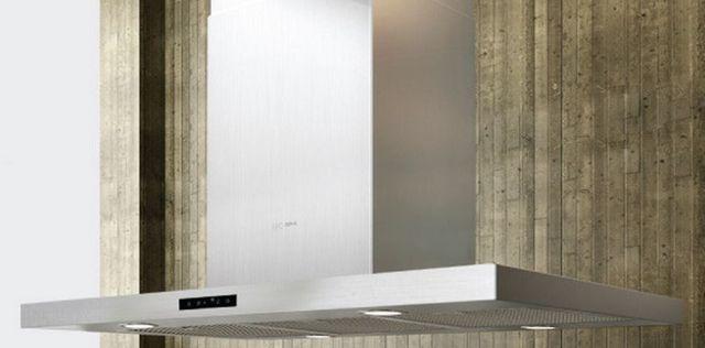 "Zephyr ARC Collection 36"" Island Hood-Stainless Steel-ADL-M90ASX"