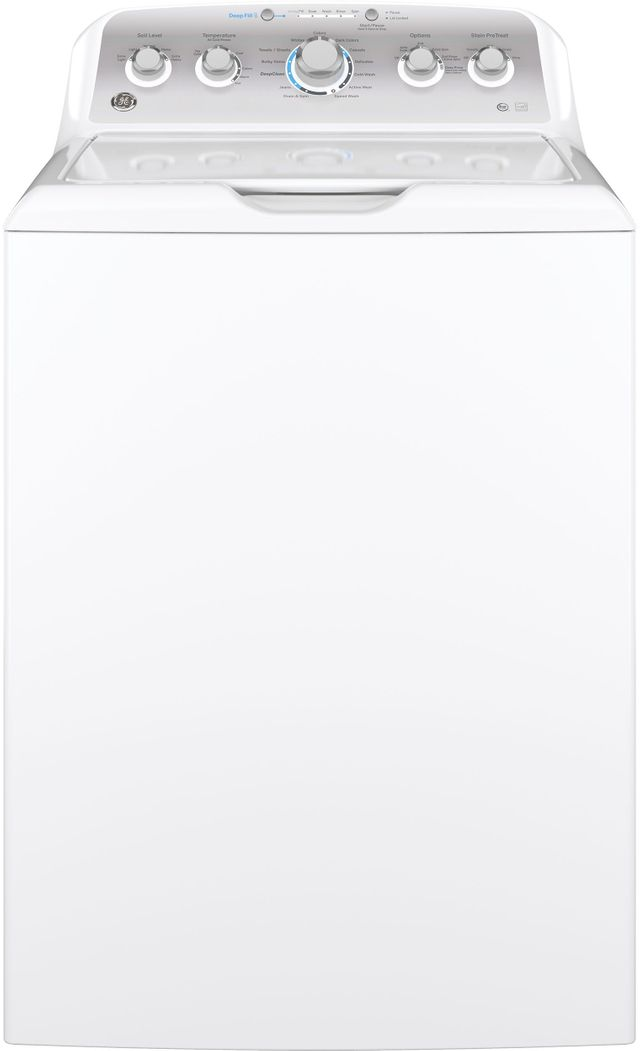 GE® 4.6 Cu. Ft. White Top Load Washer-GTW500ASNWS