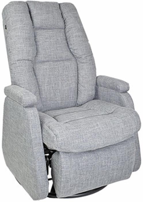 Fauteuil inclinable NEO en tissu gris PEL International®-210656