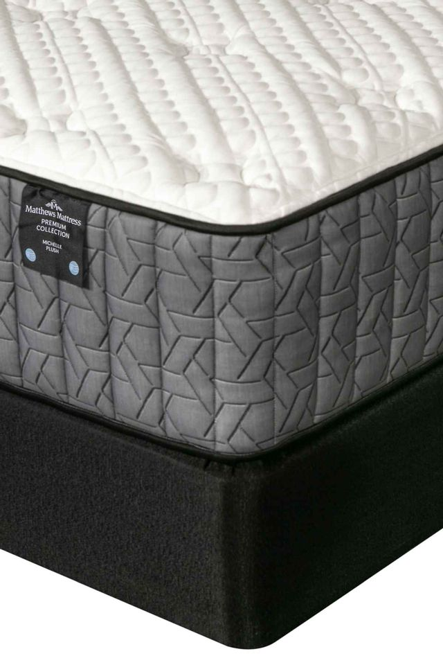 Matthews Mattress Premium Collection Michelle Pocketed Coil Plush King Mattress-4000502-K
