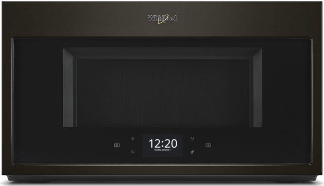 Whirlpool® Over The Range Microwave-Fingerprint Resistant Black Stainless-WMHA9019HV