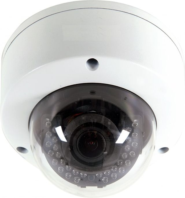 Control4® Visualint™ White 2MP IP Dome Outdoor Camera with Starlight and Motorized Lens + Virtual Technician-ZVI-M-4350-VT