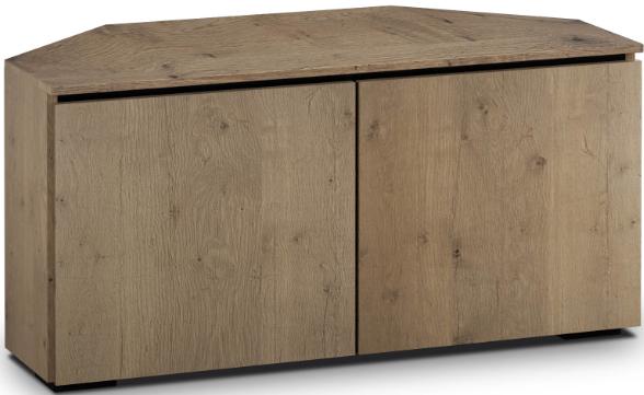 Salamander Designs® Chameleon Lancaster 221 Barnboard Oak Corner Cabinet-C/LA221CR/BBO