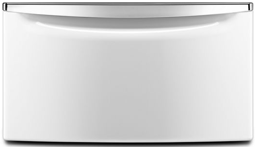 """Maytag® 15.5"""" White Pedestal for Front Load Washer and Dryer with Storage-XHPC155XW"""
