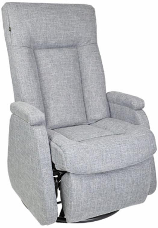 Fauteuil inclinable NEO en tissu gris PEL International®-214556