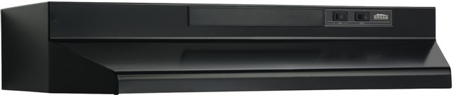 """Broan® 24"""" Convertible Under The Cabinet-Black-F402423"""