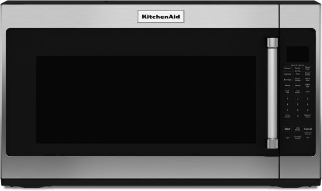 KitchenAid® 2.0 Cu. Ft. Stainless Steel Over The Range Microwave-KMHS120ESS-B