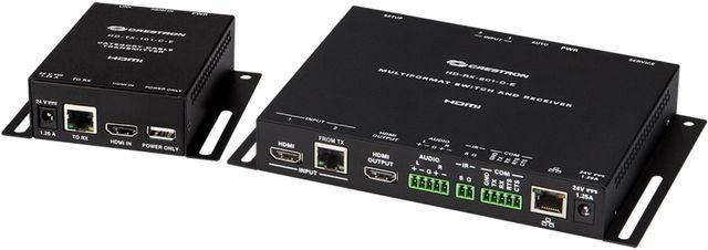 Crestron® DM Lite HD Scaling Auto-Switcher & HDMI® over CATx Extender 200-HD-MD-200-C-E