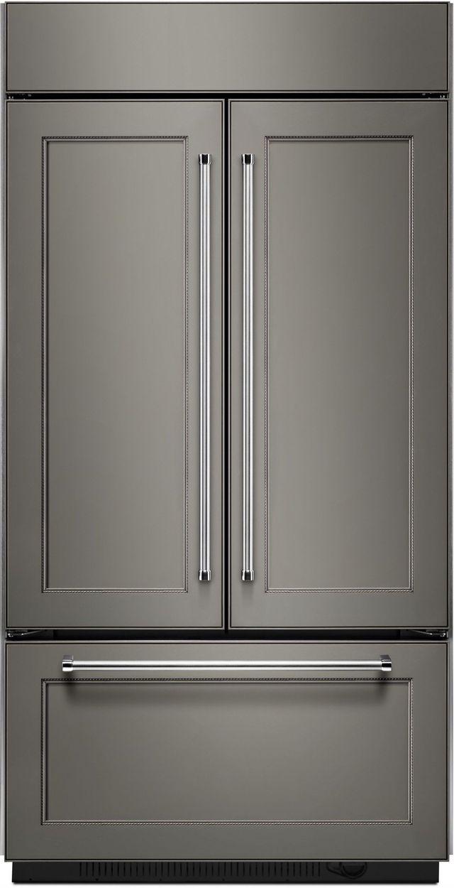 KitchenAid® 24.17 Cu. Ft. Panel Ready Built In French Door Refrigerator-KBFN502EPA