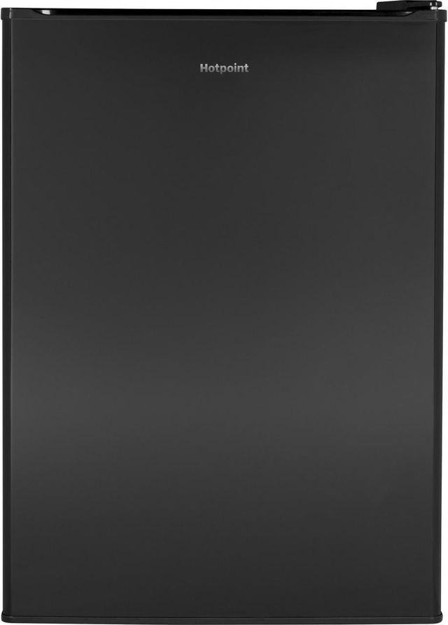 Hotpoint® 2.66 Cu. Ft. Black Compact Refrigerator-HME03GGMBB