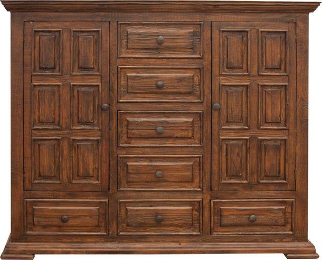 International Furniture© 1020 Terra Multi-Step Lacquer Dresser-IFD1020DSR