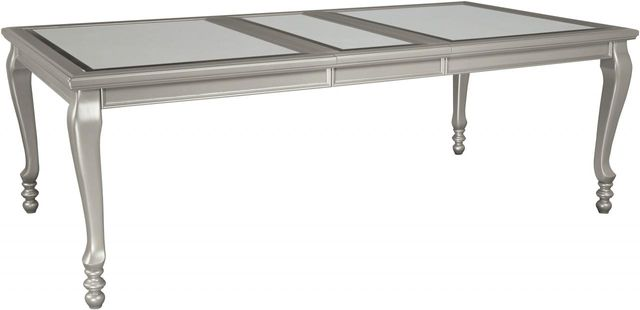 Signature Design by Ashley® Coralayne Silver Rectangular Dining Room Extension Table-D650-35