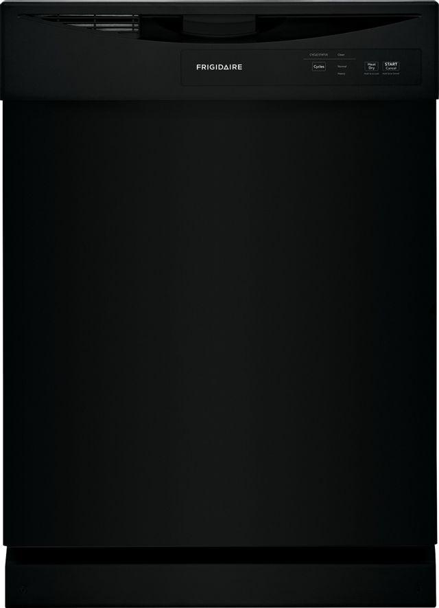 Frigidaire® 24'' Black Built-In Dishwasher-FDPC4221AB
