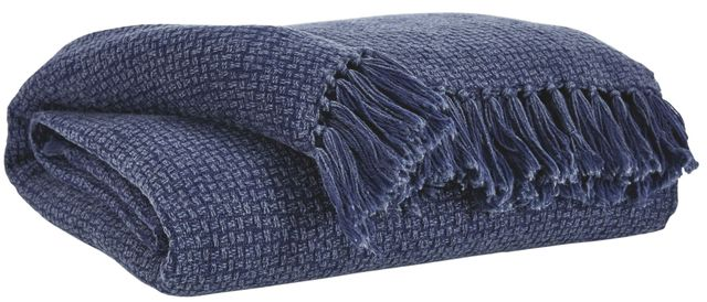 Signature Design by Ashley® Yasmin Set of 3 Navy Throws-A1000740