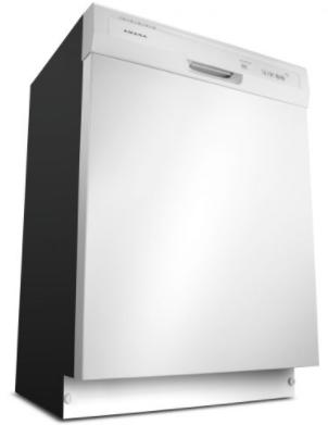 Lave-vaisselle encastré Amana® de 24 po - Blanc-ADB1400AGW