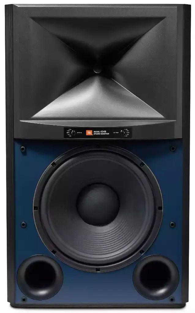 "JBL Synthesis® 4349 Black 2-way 12"" Studio Monitor Bookshelf Loudspeaker-JBL4349BLK"