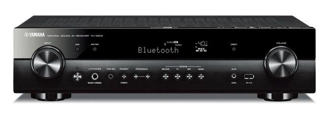 Yamaha Black Slimline 5.1 Channel AV Receiver-RX-S602BL