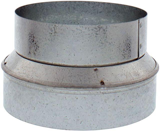 Transition et raccord de conduit Zephyr® - Aspect acier inoxydable-AK00039
