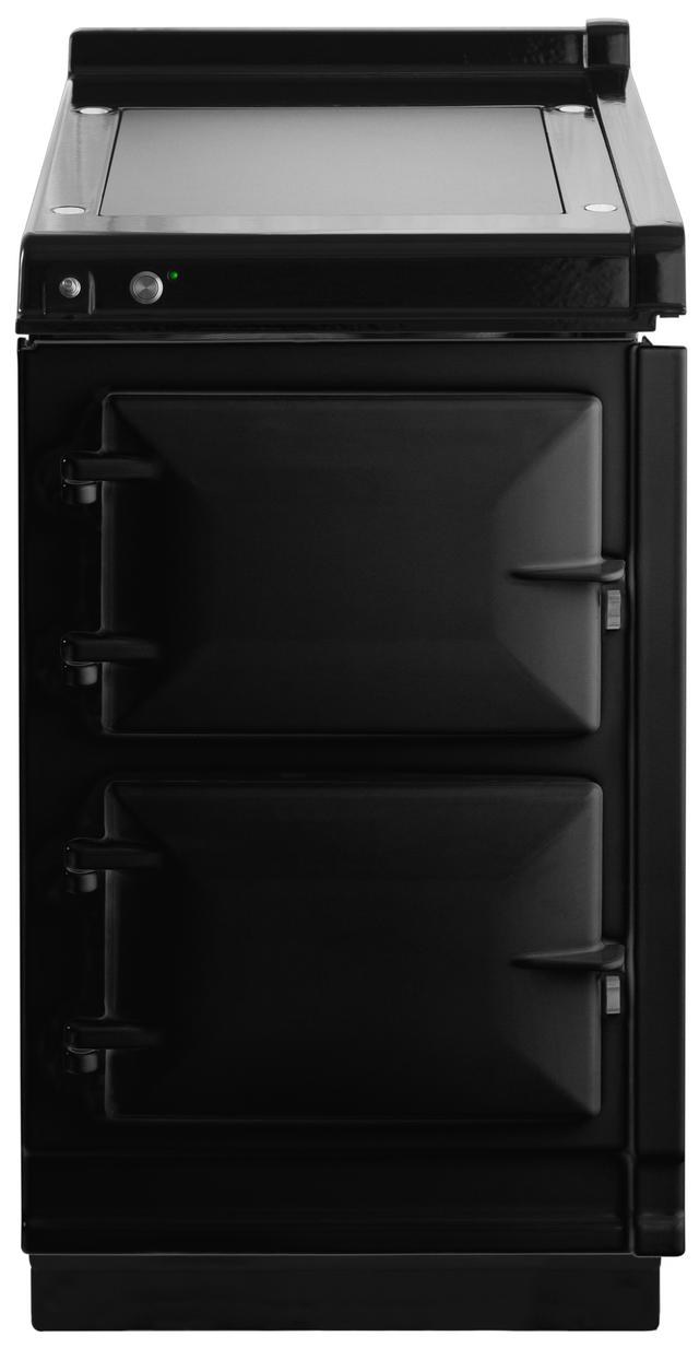"AGA 20"" Black Hotcupboard with Warming Plate-AHC-BLK"
