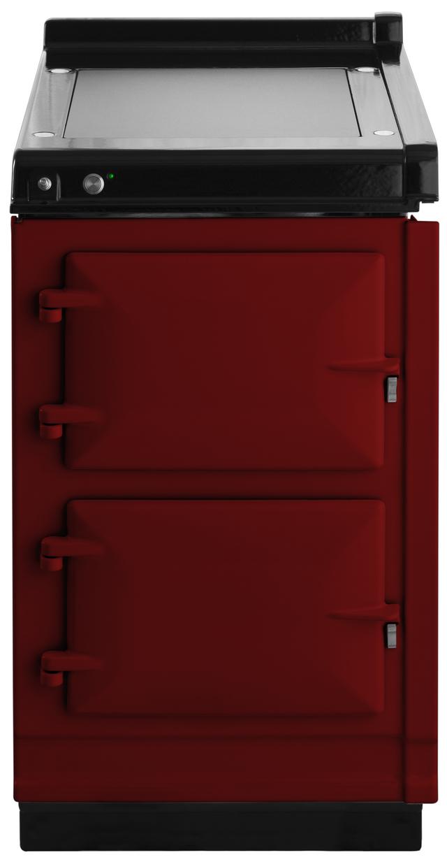 "AGA 20"" Claret Hotcupboard with Warming Plate-AHC-CLT"