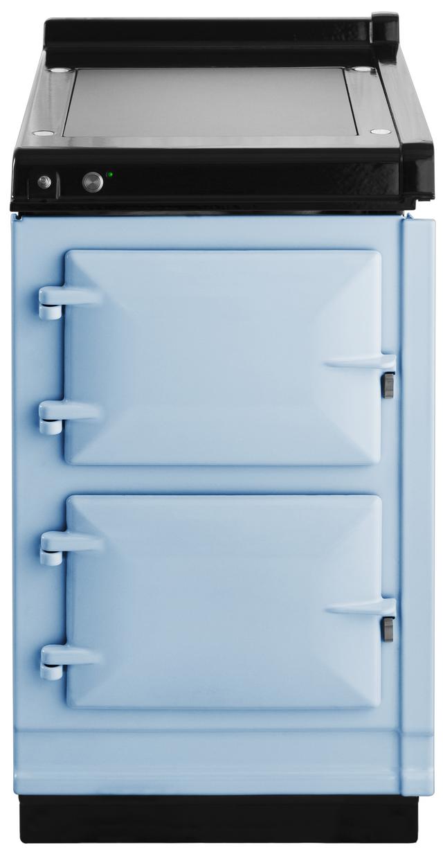 "AGA 20"" Duck Egg Blue Hotcupboard with Warming Plate-AHC-DEB"
