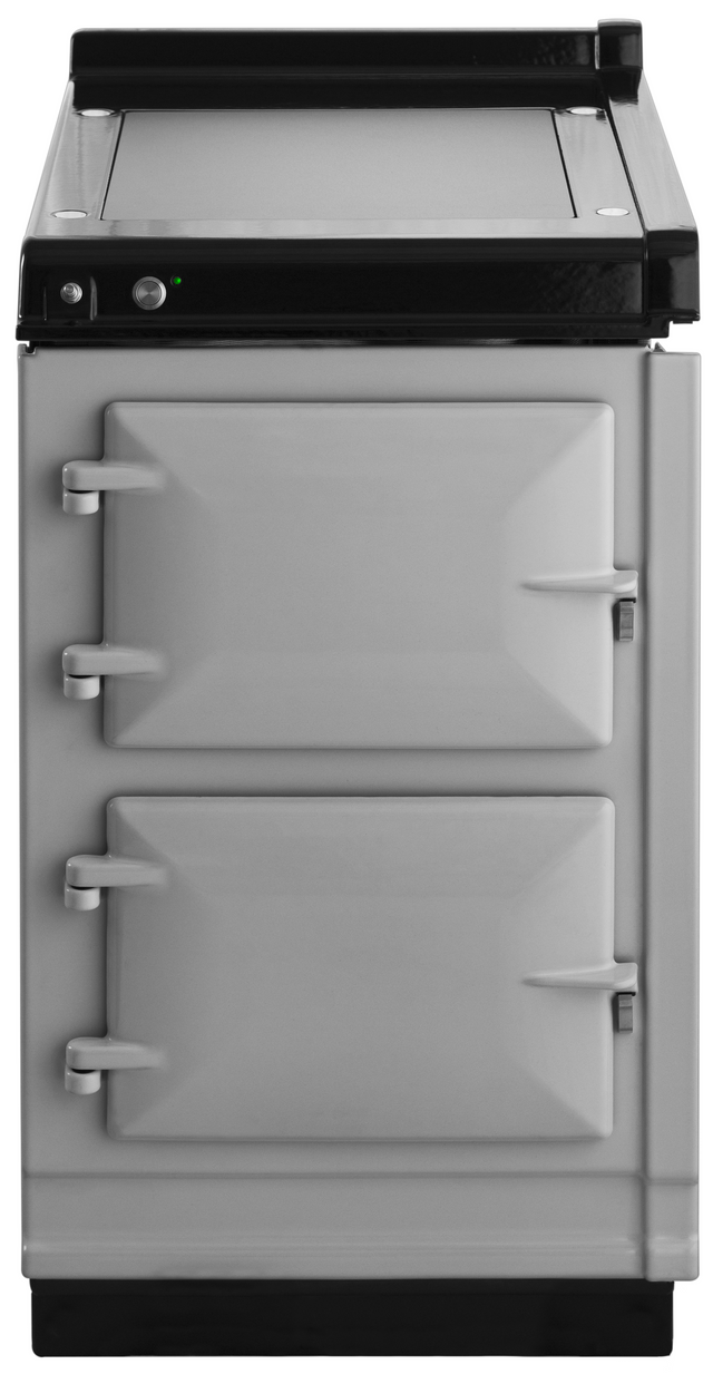 """AGA 20"""" Pearl Ashes Hotcupboard with Warming Plate-AHC-PAS"""