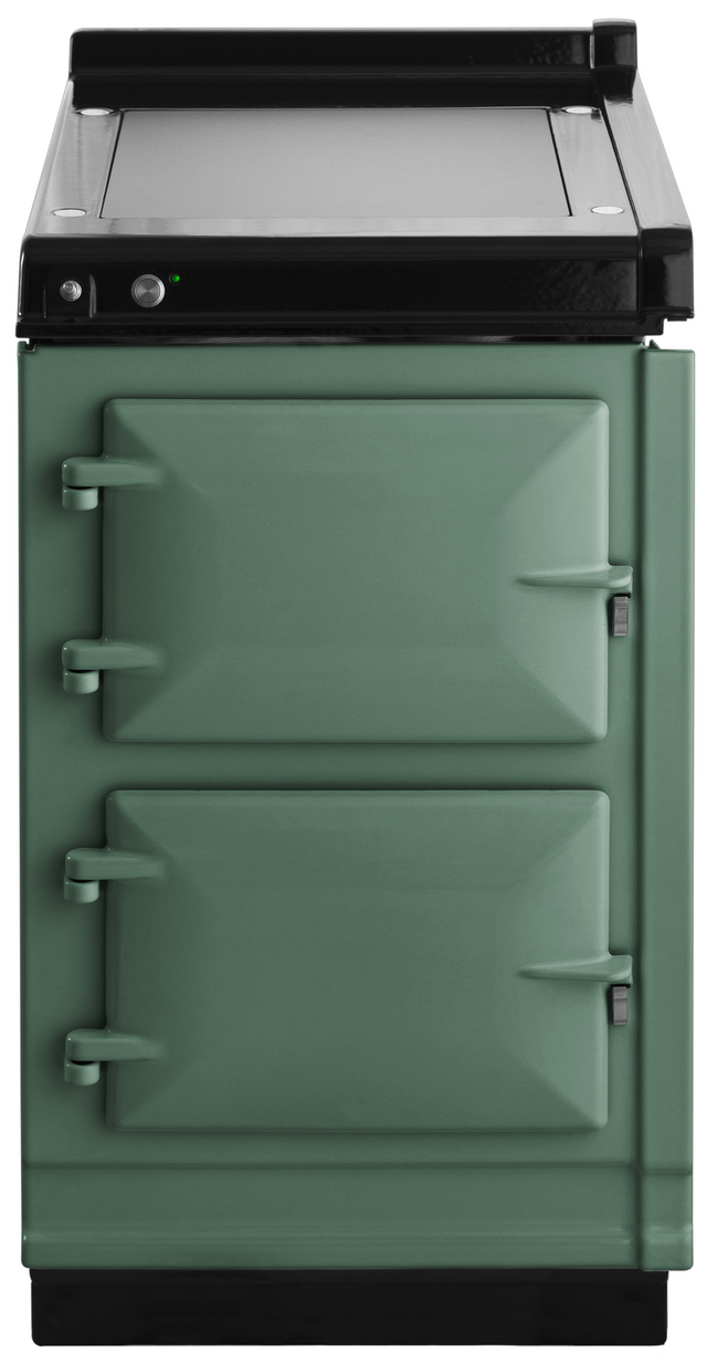 """AGA 20"""" Pistachio Hotcupboard with Warming Plate-AHC-PIS"""