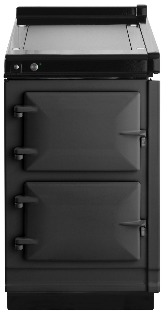 """AGA 19"""" Pewter Hotcupboard with Warming Plate-AHC-PWT"""