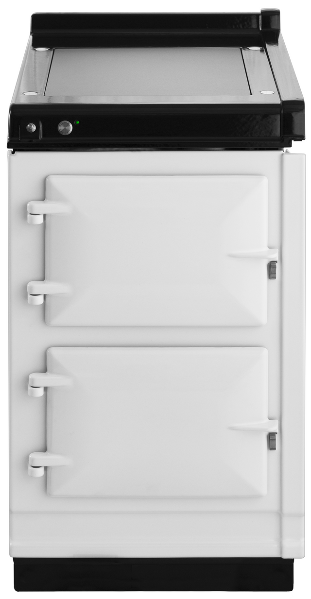 """AGA 20"""" White Hotcupboard with Warming Plate-AHC-WHT"""