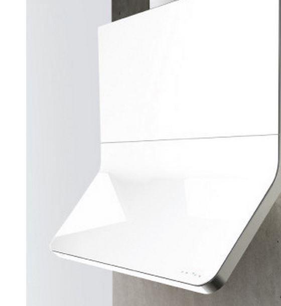 "Zephyr ARC Collection Horizon 36"" Wall Hood-White-AHZ-M90AWX"
