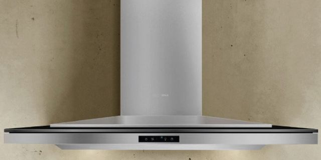 """Zephyr ARC Collection Layers 36"""" Wall Hood-Stainless Steel-ALA-M90ABX"""
