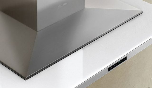 """Zephyr ARC Collection Layers 36"""" Wall Hood-Stainless Steel-ALA-M90AWX"""