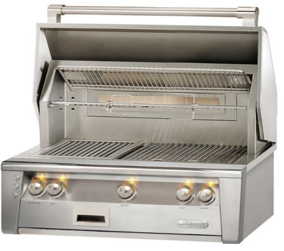 """Alfresco™ ALXE Series 36"""" Built-In Grill-Stainless Steel-ALXE-36-NG"""