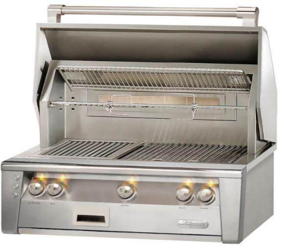 """Alfresco™ ALXE Series 36"""" Built-In Grill-Stainless Steel-ALXE-36SZ-LP"""