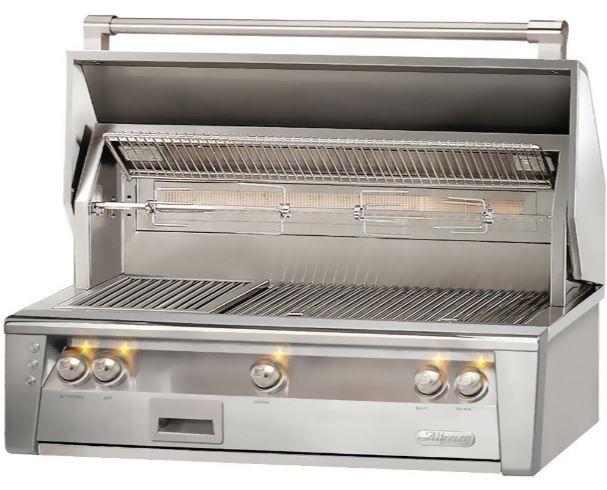 """Alfresco™ ALXE Series 42"""" Built-In Grill-Stainless Steel-ALXE-42-LP"""