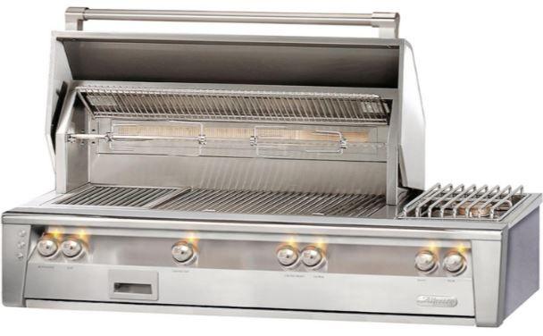 """Alfresco™ ALXE Series 56"""" Built-In Grill-Stainless Steel-ALXE-56-LP"""