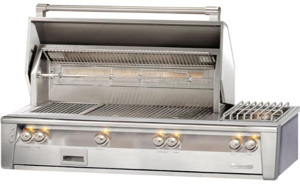 """Alfresco™ ALXE Series 56"""" Built-In Grill-Stainless Steel-ALXE-56-NG"""