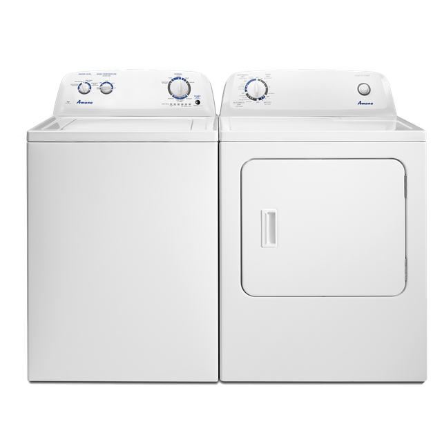 Amana® Laundry Pair-White-AMLAUNGD4655EW