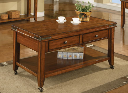 Winners Only® Mango Coffee Table W/Caster-AMG100C