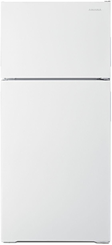Amana® 14.33 Cu. Ft. White Top Freezer Refrigerator-ART104TFDW
